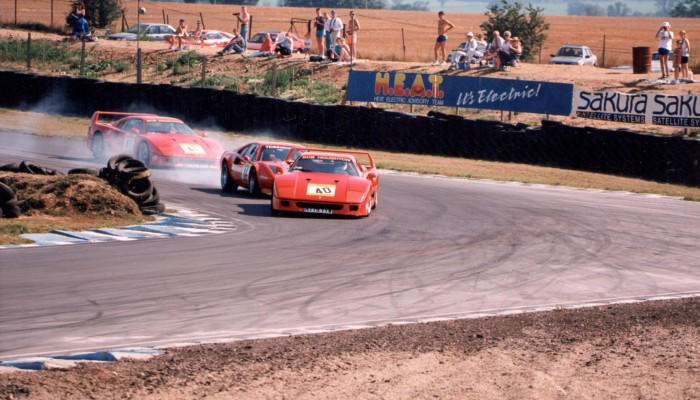 F40s were an exciting feature of early PMFC racing